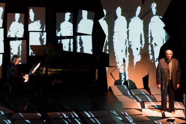 avec Roland Conil (pianiste) et Serge Barbuscia (comédien), musique de Hayden et texte de Primo Levi