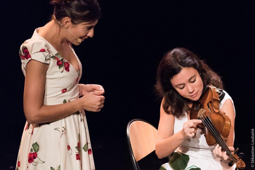 avec Arianne Rousseau (comédienne) et le Quatuor Alfama dans le cadre de l'édition 2016 du Festival Notes d'Automne à Le Perreux sur Marne